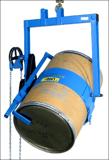 Heavy-duty drum carrier with Bracket Assembly