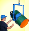 Below hook drum handler to lift and pour drum up to 800 Lb.