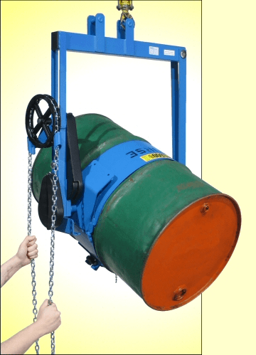 Heavy-duty drum carrier with 3-piece drum holder - Model 185G-HD