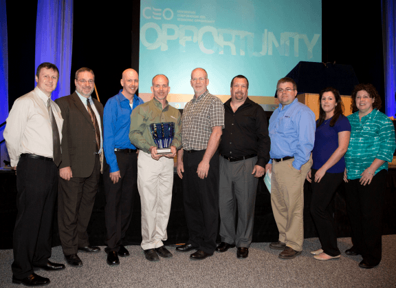 Morse employees receive award from CenterState CEO
