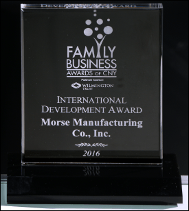 Morse Family Business Award