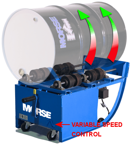 Variable Speed Portable Drum Roller