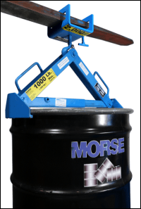 Model 284 Fork Hook with Model 92 Below-Hook Drum Lifter