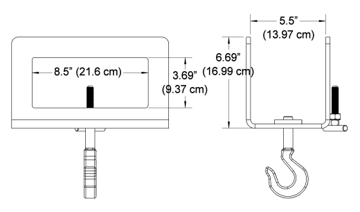 Custom Fork Hook Dimensions