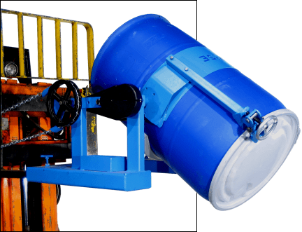 Heavy-Duty Forklift-Karrier with Top Rim Clamp Option