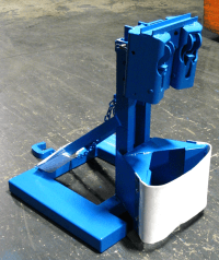 Custom MORSpeed Forklift Attachment for 2500 Lb. (1134 kg) drum