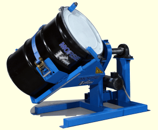 55 gallon steel drum mixer - Mix the contents of a steel drum with a Morse Drum Tumbler