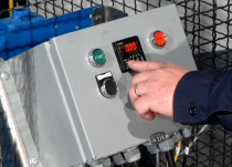 Optional Automated Controls for Drum Tumbler