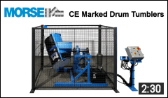 CE-Marked Drum Tumbler Video