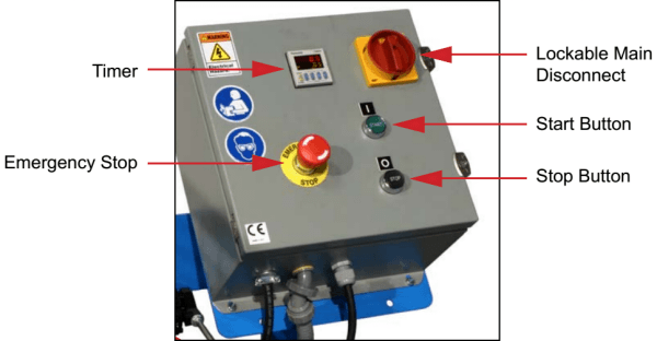 Electric Package Box for NON-Explosion-Proof electric models