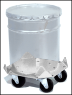 Stainless Steel Pail Dolly
