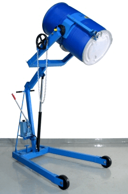 Hydra-Lift Karrier with MORcinch drum holder and Top Rim Clamp