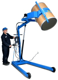 Hydra-Lift drum dumper with Bracket Assembly
