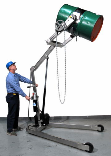 Hydra-Lift Karrier are made of type 304 stainless steel - model 400A-96SS-125