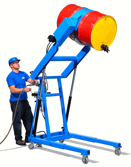 Heavy-Duty Hydra-Lift Karrier with air power lift and tilt
