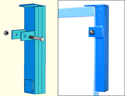Counterweight to keep Kontrol-Karrier hanging level