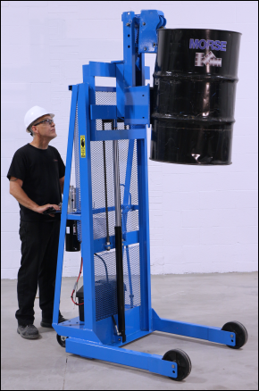 Morse Mobile Drum Stacker