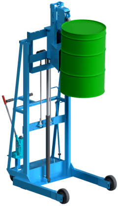 Vertical-Lift Drum Stacker Model 512