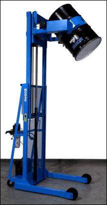 Vertical-Lift Drum Pourers - Morse Drum Handling Equipment