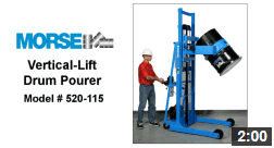 Vertical-Lift Drum Pourer Video