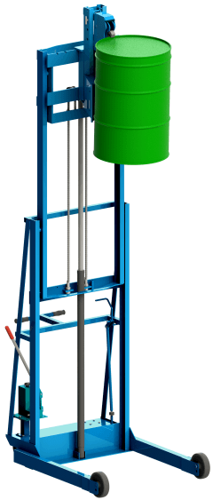 Vertical-Lift Drum Stacker Model 522
