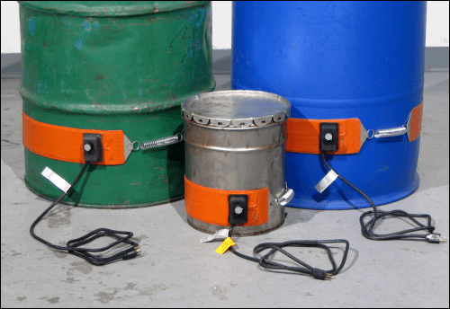 Choose the correct Morse Drum Heater for a plastic, steel or fibber drum
