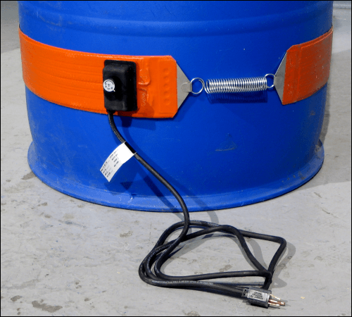 Drum Heater model 711-55-115 for a 55-gallon plastic drum