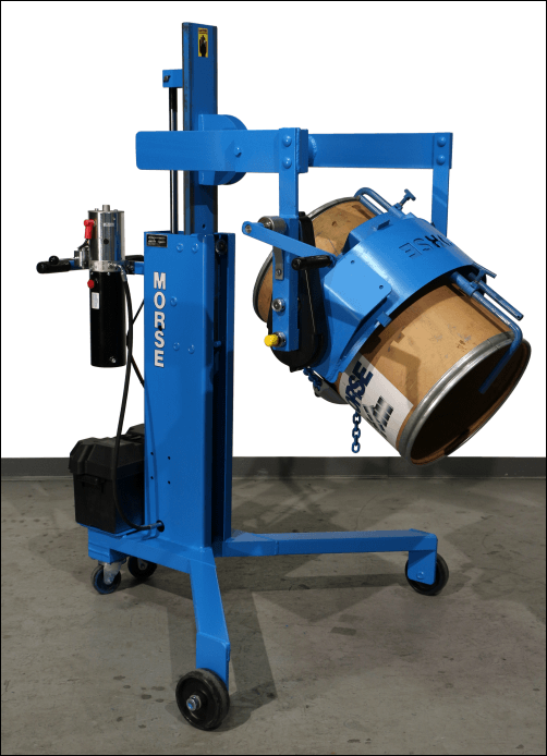 Model 82A-GT-125 with Diameter Adaptor for smaller drum