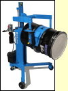 Drum Palletizers with Geared Drum Tilt