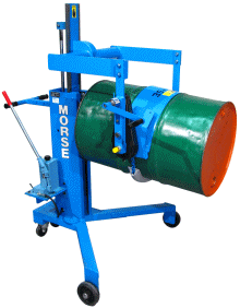 Drum Palletizer with Geared Tilt