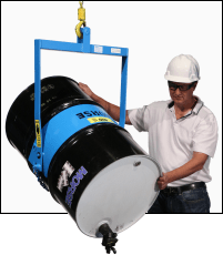 Drum Carrier to Pour ONLY a 55-Gallon Steel Drum