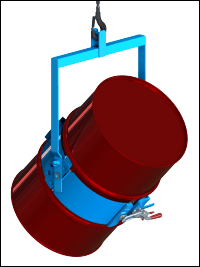 Tilt drum with Morse below-hook drum carrier
