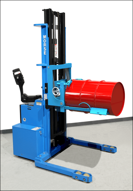 Morse Power-Propelled Drum Walkie Stacker