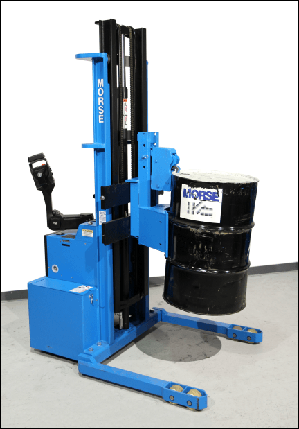 Morse Power-Propelled Drum Transporter - Walkie Stacker