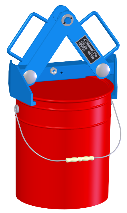 5-Gallon Pail Lifter - Model 92-5 for below-hook 5-gallon bucket lifting