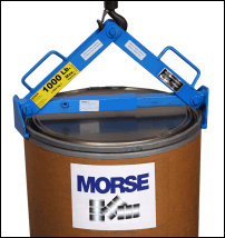 Use Model 92 Drum Lifter with fiber drum