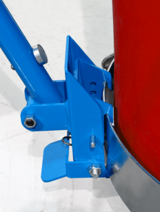 Clamping mechanism of Morse Clamp+Go Dolly Handle
