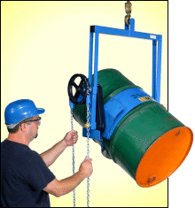 Below-hook drum carrier - Model 185A