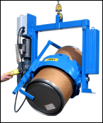 Powered drum handler with Bracket Assembly Option