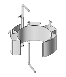 Stainless Steel Diameter Adaptor