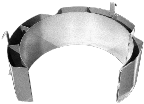Stainless Steel Diameter Adaptor for smaller drum
