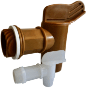 Poly drum faucets