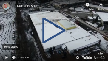 Video: Raised roof at Morse new building