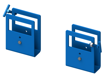 Kit 6315-P to add Fork Pockets to below-hook drum handler