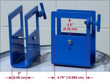 Fork Pocket Kit 6315-P Dimensions