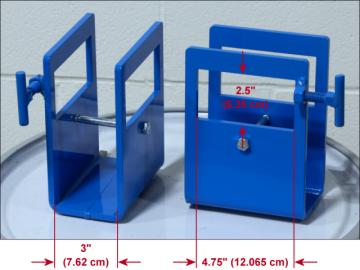 Fork Pocket Kit 6333-P Dimensions