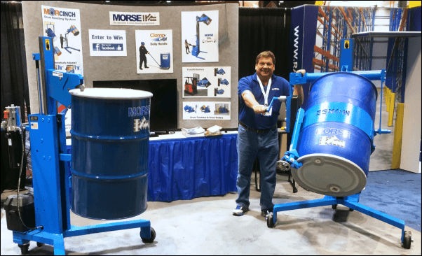 Morse booth at ProMat 2015