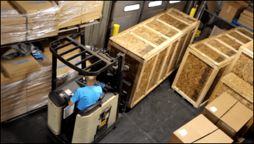 export shipping crates