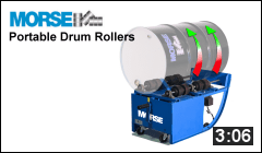 Video of Portable Drum Rollers