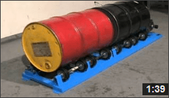 Video of Stationary Drum Roller